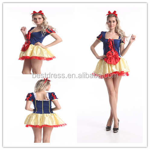 Princess Dress Snow White Princess Stage Show Dress Made Cosplay Costume