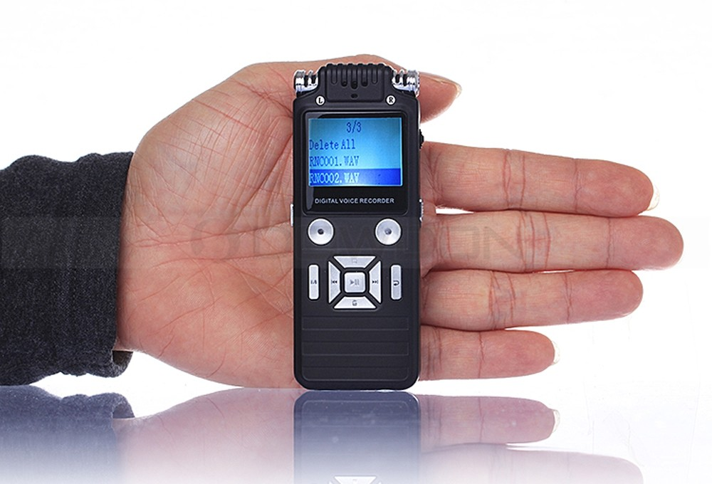 USB 2.0 High Speed Mini MP3 Audio Recorder 8GB USB Disk Digital Voice Recorder