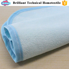 Factory direct price 100% cotton white plain quilted full fitted muslin crib patchwork single use bed sheet