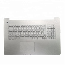 NEW Original For ASUS N750 N750JV N750JK Laptop Keyboard with backlight English EU Layout silver