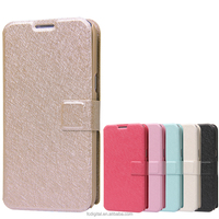 QWD wholesale premium for samsung note2 7100 color leather mobile phone case flip cover phone case for iphone6s