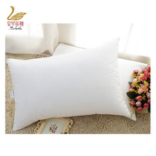 Custom white cheap wholesale hotel 100% down pillow
