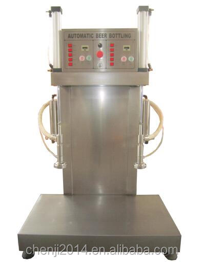 Small beer keg filler filling machine with stainless steel CE standard