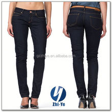new fashion latest design black jeans for women