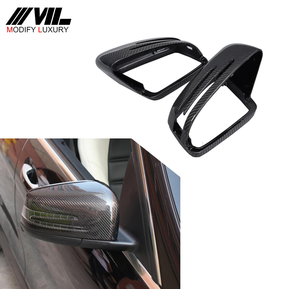 Racing Carbon W204 W212 Back Mirror Cover For Mercedes W176 <strong>W117</strong> W246 W204