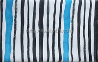 custom style 300D stripe waterproof Polyester Oxford 100% polyester tent fabric