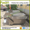 Stainless steel chicken feet cutter | Chicken cutting machine price