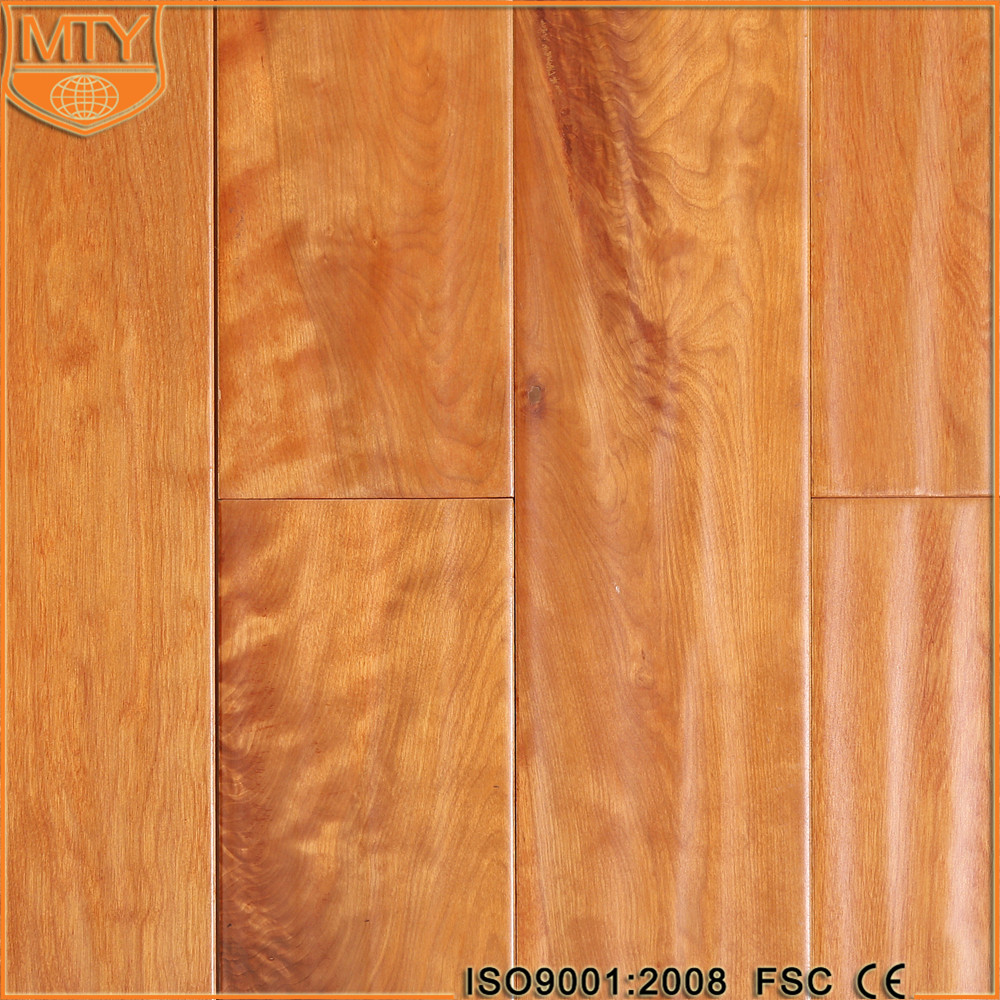 S-5 Hot Sale Hand Scraped Solid Wood Flooring Vietnam