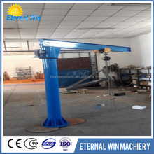 2ton small portal fixed type jib crane with promotional price