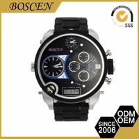 Stylish Custom Printing Logo Brand Movement Mens Automatic Watches
