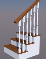 Stairs Designs Indoor Wooden Stair Railing