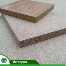 15MM 18MM plain and melamine particle board for cabinet