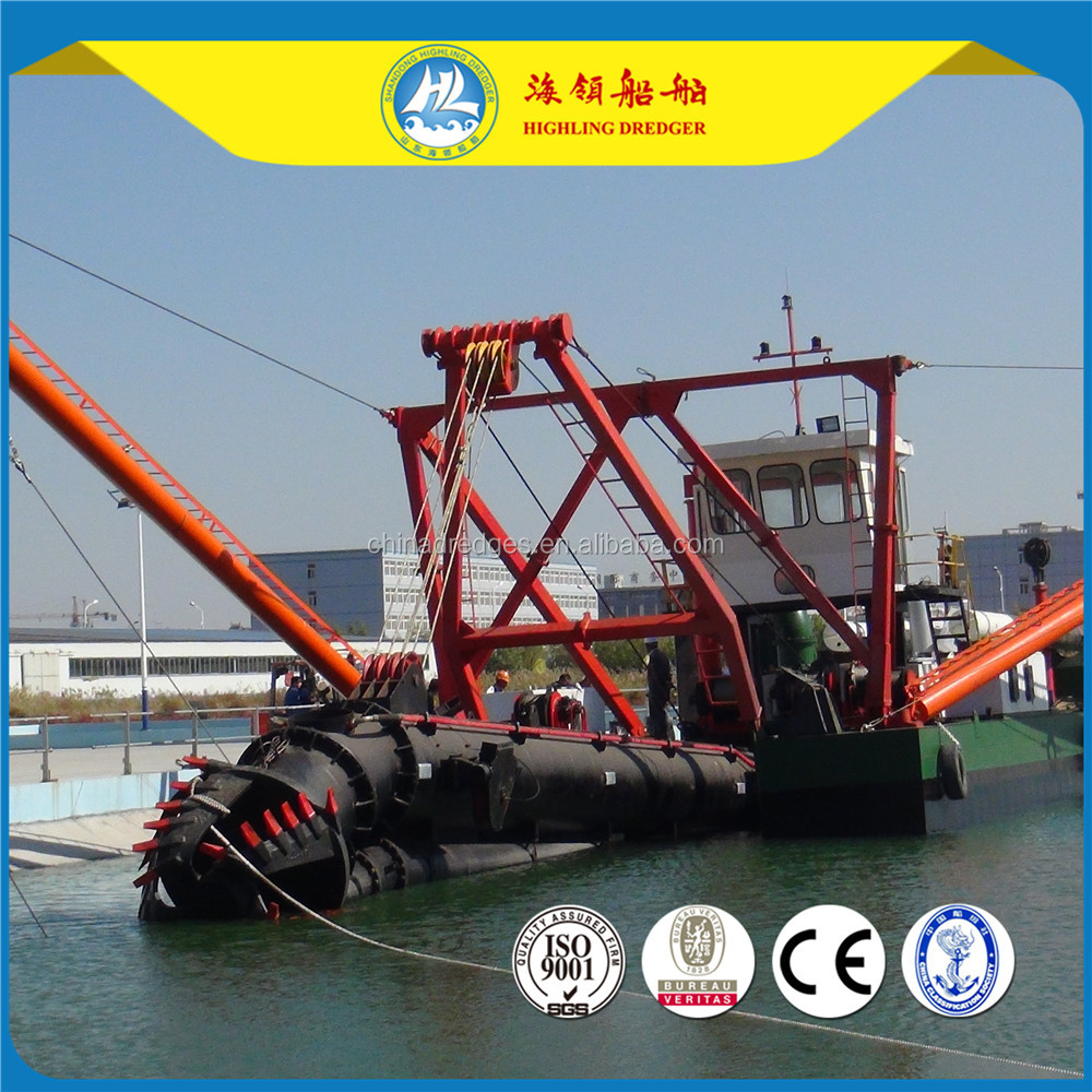 Hot sale China Highling Sand Cutter Dredger HL450 18 inch 3000m3 with dredging depth 14m and cheap price