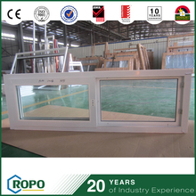 Wholesales China UPVC Hurricane Impact Double Pane Sliding outdoor plastic Window