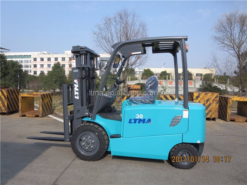 New 3 ton electric forklift with 72V-480 battery