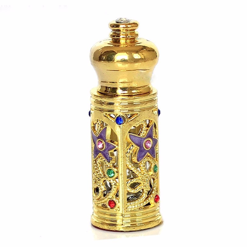 3ml Arabic Style crystal perfume bottle with Dropper Cap