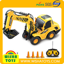 Newest! 1:20 rc excavator construction toy trucks 6 CH digger truck for sale
