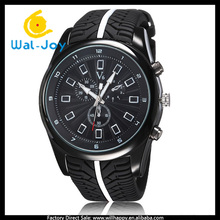 WJ-5326 silicone wristband big face V6 brand high-grade business men casual watch