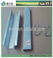Construction material galvanized steel furring channel for ceiling
