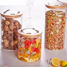 Factory directly supply wholesale wide-mouth glass jar for canning