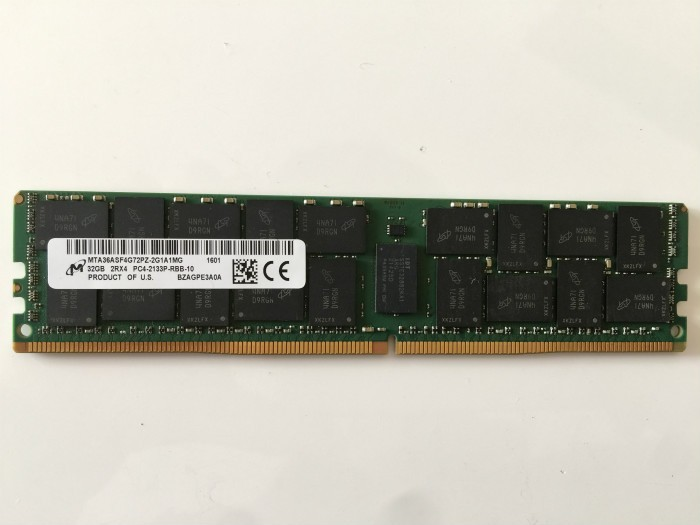 buy from china Samsung DDR4 PC17000/2133MHz ECC Reg CL15 32GB (M386A4G40DM0-CPB) on alibaba SY