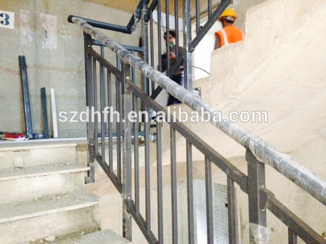 Portable Steps With Railing : Portable stair railings steel railing fence
