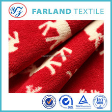 high quality print Coral fleece for baby pram bed sheet fabric