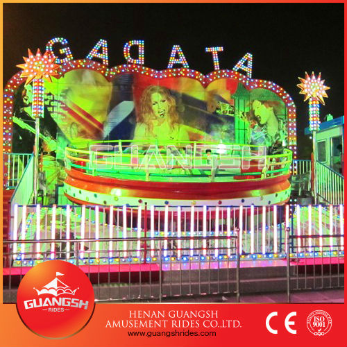 Attractions park funfair rides tagada for sale, dynamic musical disco tagada for family funny