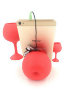 Multi function Silicone Magnetic clip Mobile Phone Holder