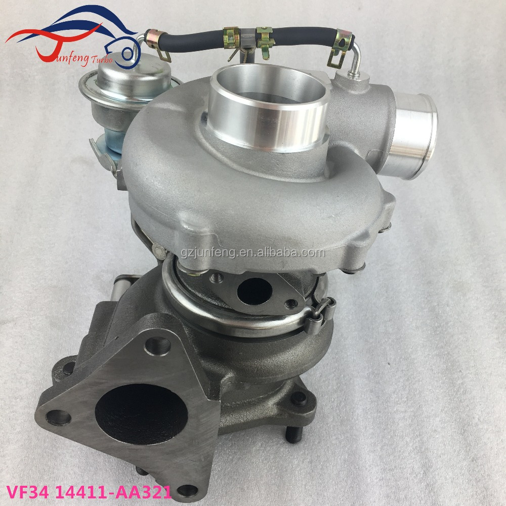 VF34 Turbo 14411-AA321 5T-631 VG660060 Turbocharger for 2001- Subaru Impreza WRX STI EJ20, EJ25 Engine