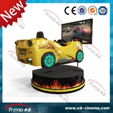 China Factory Direct Manufacturer Cheap Price play racing car games online with 50 inch 3D screen