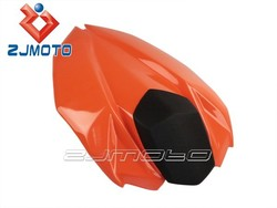 Motorcycle Rear Seat Orange OEM Single Rear Seat Cover FRP Motorcycle Bodywork Fairing For ninja z800 2013 ZJMOTO