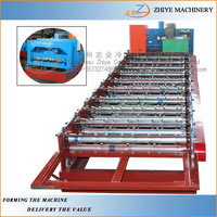 Galvanised Metal Roofing Sheet Production Line/ IBR Sheet Making Machine
