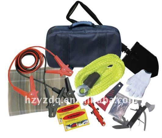 19pcs car emergency repair tool kit