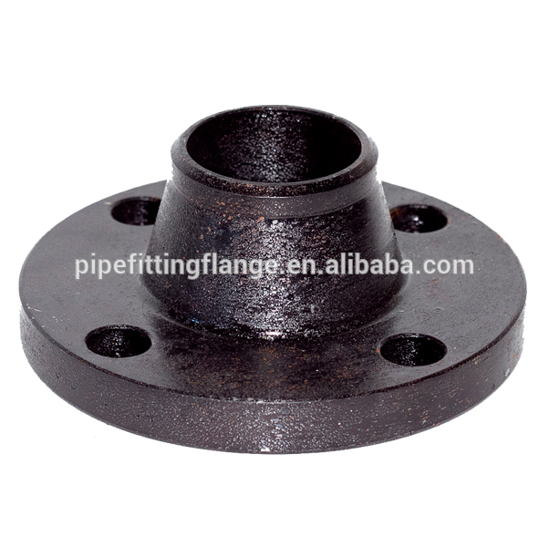 WCB carbon steel ANSI forging pipe use class150 asme b16.5 wn rf flange a105