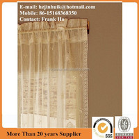 high quality and spider lace door curtain panel
