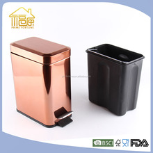Industrial Steel Waste Bin Household Recycle Trash Bin Stainless Steel Garbage Bin