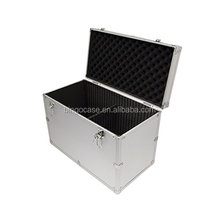 Aluminum Hard Case With Reinforced Metal Corners 17.7 x 12.4 x 9.5 Inches