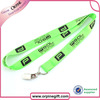 Polyester lanyard for neck strap,keychain,ID holder,cell phone