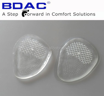 transparent TPE Gel Ball of Foot Metatarsal Pad insole maker