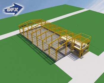 Prefabricated Steel Structure Warehouse from Qingdao Factory