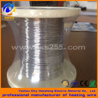 Wire and ribbon for resistance heating, electrical resistance and conductive applications