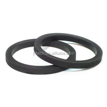 Door window and trunk seals high density rubber for outdoor applications with dynamic and mechanical properties