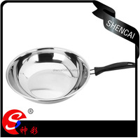 FDA LFGB SGS stainless steel non stick frying pan for house
