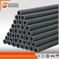 Inner Diameter Foam Rubber Insulation Tube,Insulation Pipe For Air Conditioner And Hvac System