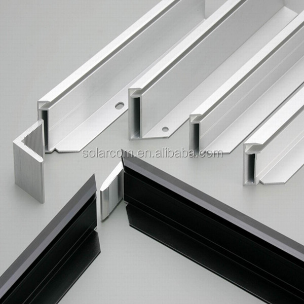 Aluminum Frame Wall : Aluminum extrusion solar panel frame buy pv module