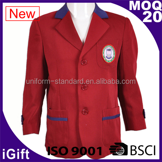 School Uniform Factory wholesale good quality school uniform blazer