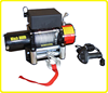 DC 12 volt wench , electric 8000lb winch , heavy duty powered winch