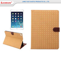 New Arrival Luxury Rievt Tablet Case for iPad Pro 9.7 Inch,Wallet Style Leather Cases With For iPad Mini