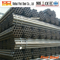 Hot Rolling mild steel density of carbon steel tube for construction